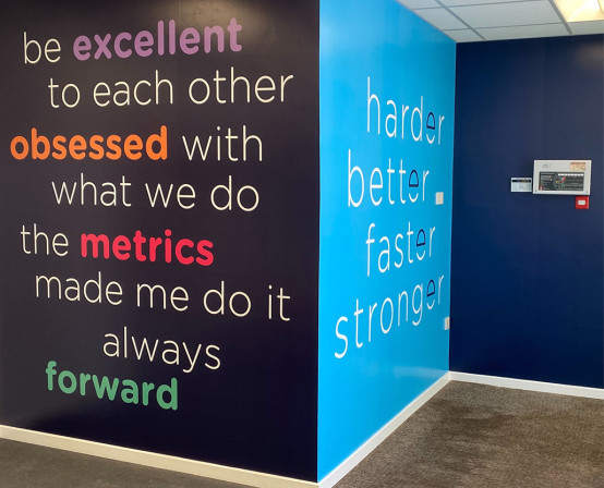 Engage Health Systems Office Graphics