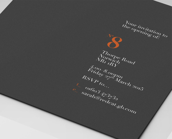 No8 Invite Design
